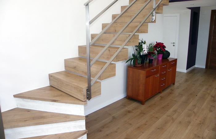 escalera de madera - Escaleras Madera